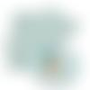 Feuille simili cuir imprimé - lama - 20 x 34 cm