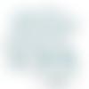 Feuille simili cuir imprimé - sirène - 20 x 34 cm