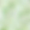 1 coupon de tissu feuillage vert