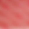 1 coupon de tissu asie - fleurs - fond rouge