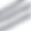 Galon pompon - ruban pompon - coloris gris clair - vendu au mètre