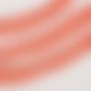 Galon pompon - ruban pompon - coloris orange - vendu au mètre