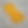 10 bandes elastiques - cordon avec boucle réglable pour masque - jaune