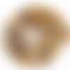 Lot de 10 perles agates rondes - 6 mm - p1157