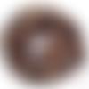 Lot de 10 perles chips bronzite - ref p-1235