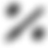 Fermeture eclair  - non séparable 30 cm - noire