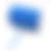 Ruban élastique plat - bleu turquoise - 6 mm