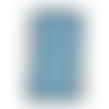Ruban élastique plat - bleu  - 6 mm