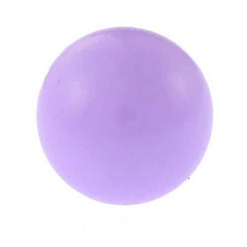 1 boule bola musical de grossesse - grelot mexicain - 16 mm - parme - r706