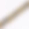 Perle ronde malachite - teintée jaunes et gris - lot de 10 - 8 mm - ref p-1013
