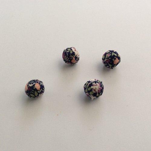 Lots de 4 perles