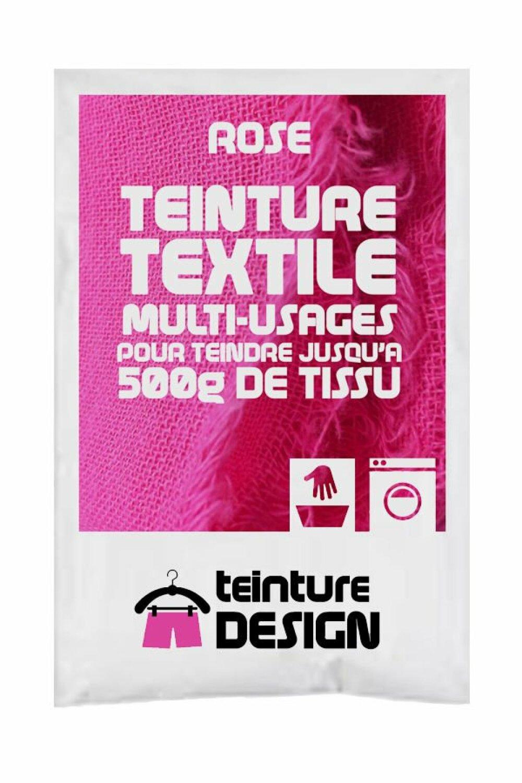 Teinture Design pour tissu/textile/vêtement coloris rose 29
