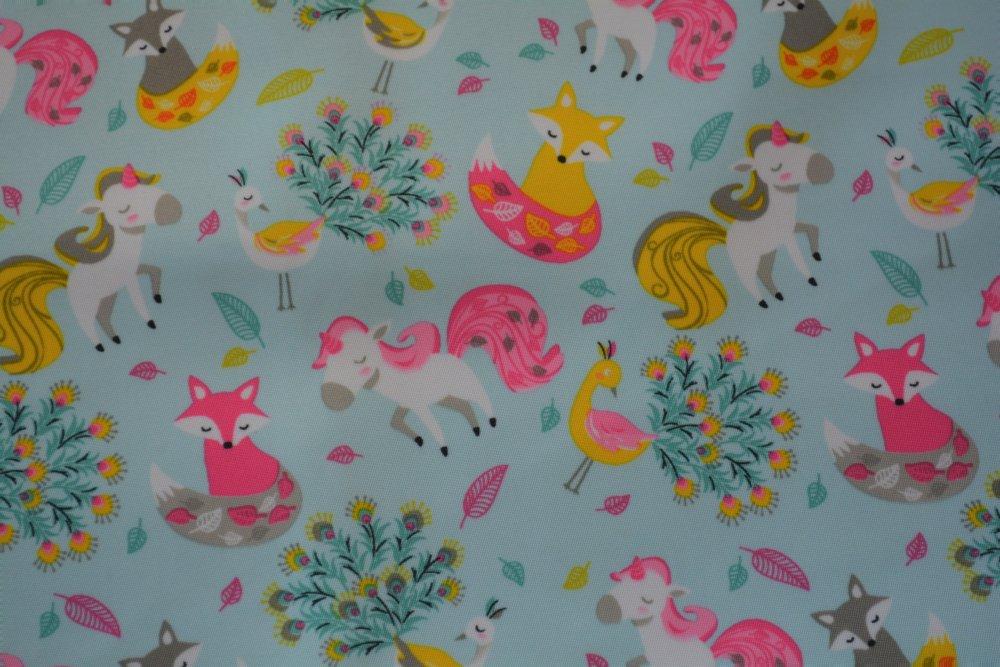 Coupon XXL en Tissu déperlant motif poney