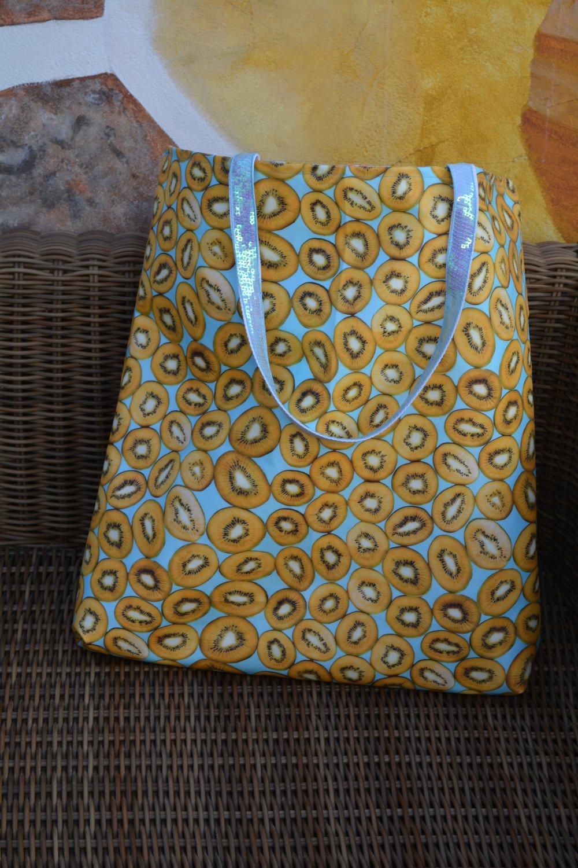 Coupon XXL en Tissu déperlant motif flamant sur fond gris