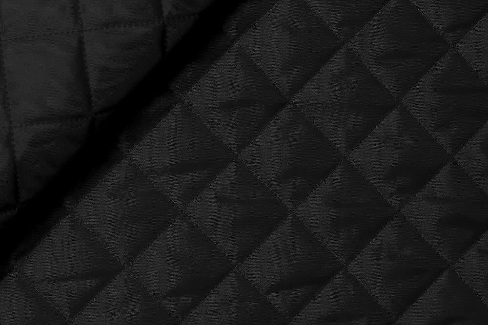 Doublure matelassée couleur noir