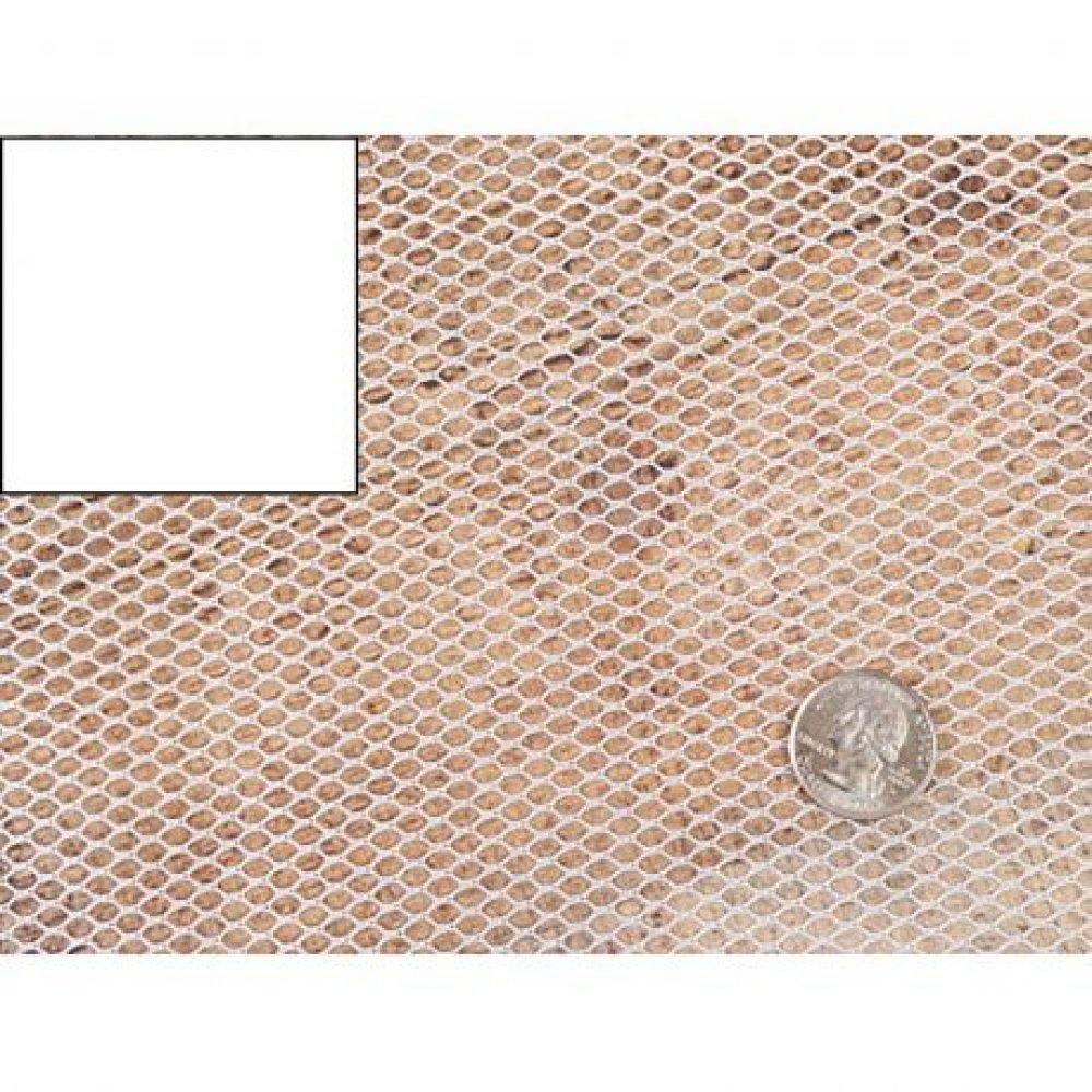 tissu filet 50x137 cm, tissu résille ,polyester, Mesh Fabric blanc