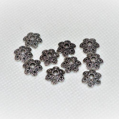 Lot de 10 déco de perles diam environ 4 mm