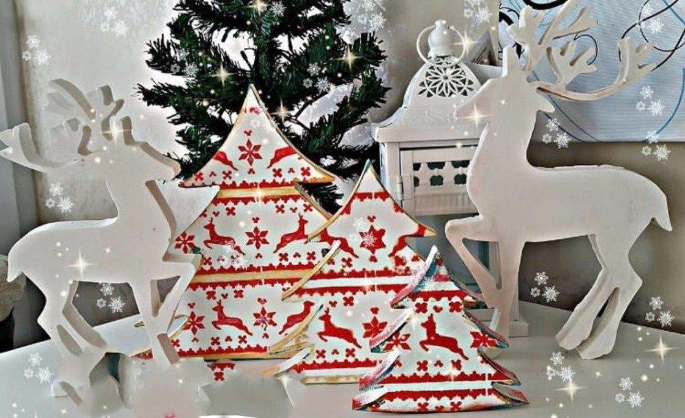 Moule Silicone Sapin de Noël 10cm pour Pâte Polymère Fimo Plâtre WEPAM Porcelaine Cire Savon Résine Argile K011 OK