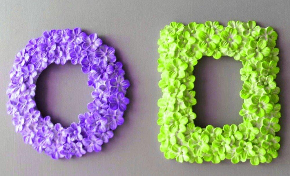 Moule Silicone Cadre Photo Miroir Rectangle Fleurs Vintage Pâte Polymère Fimo Plâtre WEPAM Argile Résine Savon Cire Polyester K049 HTR