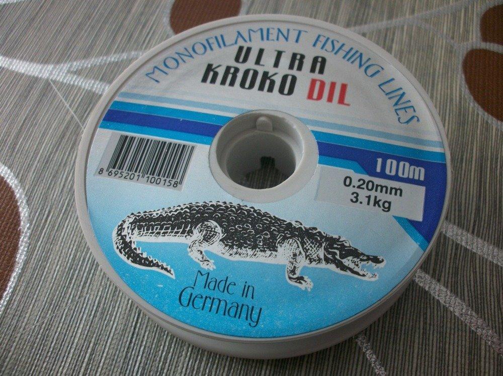 100 Mètres de fil de pêche diamètre 0,4mm Transparent Résistance 9,4kg pour bijoux bracelets collier C33