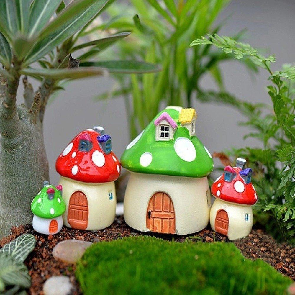 1 Moule Silicone Maison 18mm Champignon 3D Terrarium pour Pâte Polymère Fimo Plâtre Porcelaine Cire Savon Fimo Résine Argile K253 çT