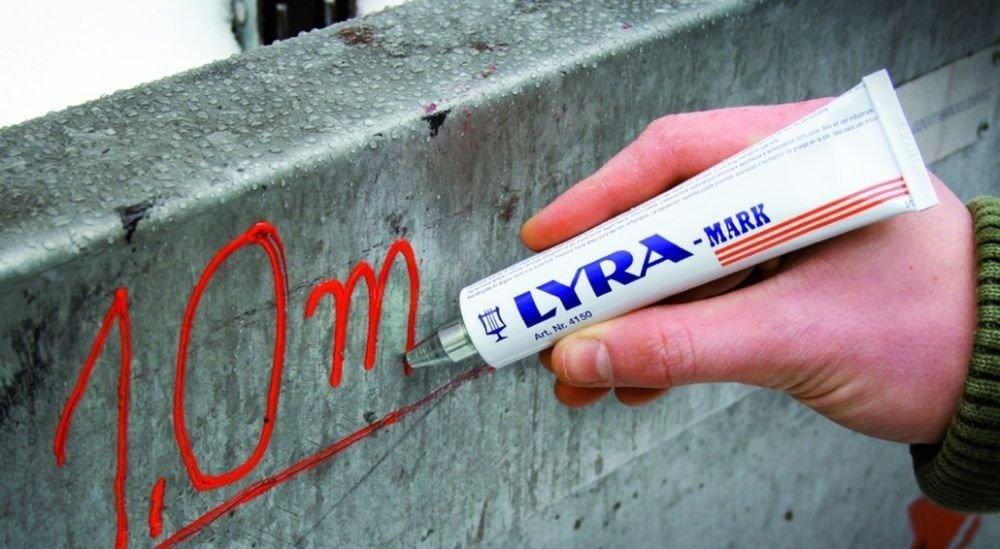 1 Marqueur JAUNE Paint Marker Stylos indélébile épais à Encre Permanente pour ACIER FER Plastique Verre