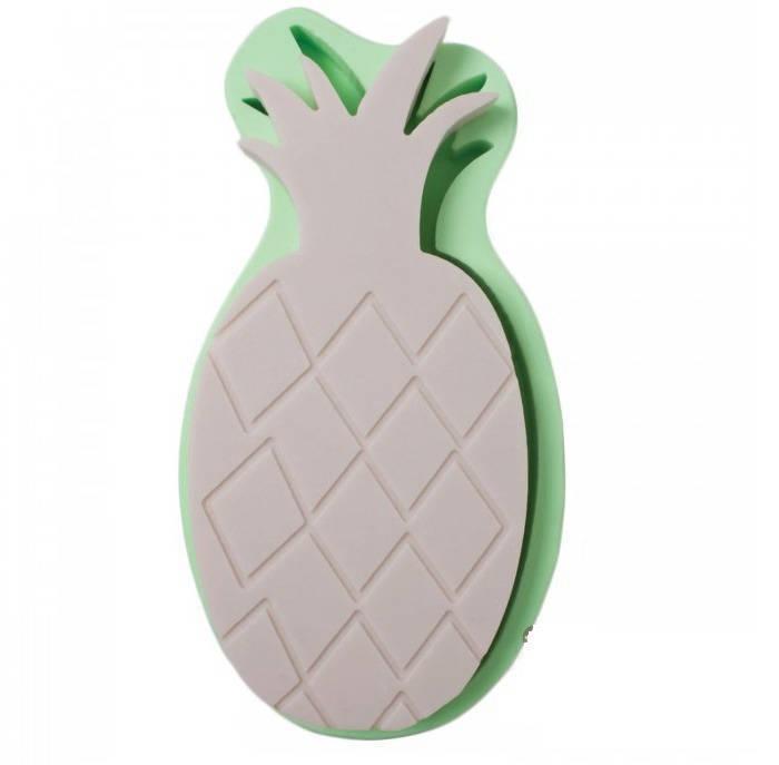 1 Moule en Silicone Ananas 24cm pour Pâte Polymère Fimo Platre Porcelaine Cire Savon Fimo Résine Porcelaine à Froid