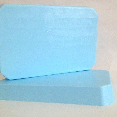 1kg bloc de savon à mouler pain de savon bleu