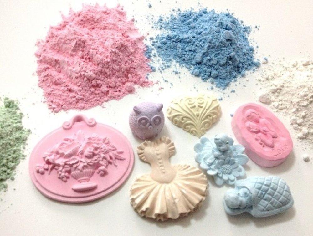 Moule Silicone Meuble Commode de Maquillage 3D pour Pâte Polymère Fimo Plâtre WEPAM Résine Cire Savon Argile Ciment K414