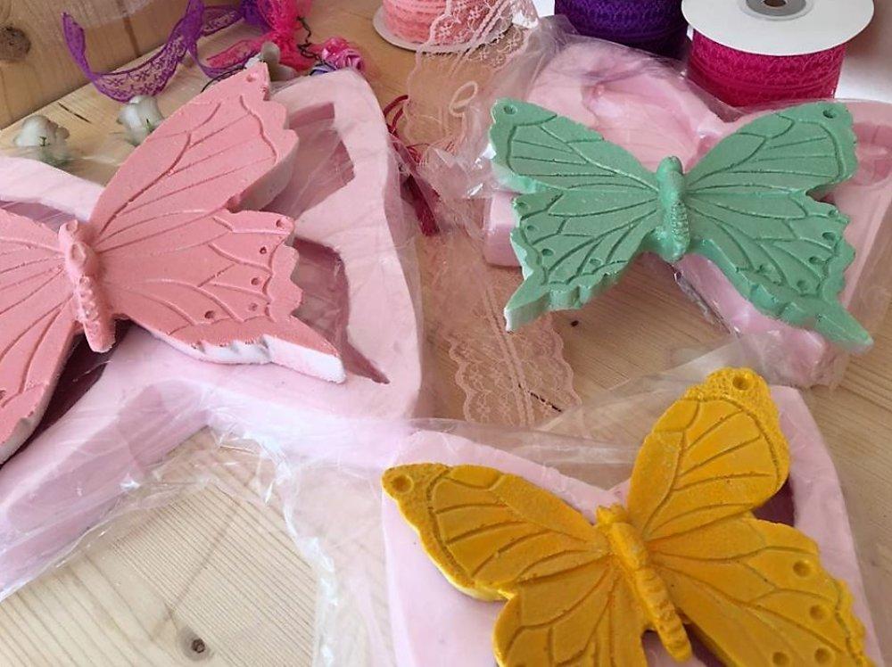 Moule Silicone Ailes Papillons 3 Tailles pour Plâtre Argile Pâte Polymère Fimo Porcelaine Savon Résine Cire Béton Polyester K494 3H