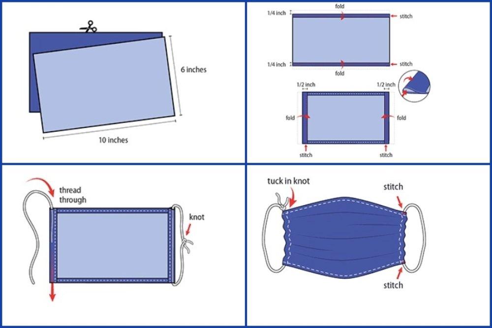 10 mètres élastique Lycra Rond Diamètre 2mm Blanc pour Masque  B8 TOP