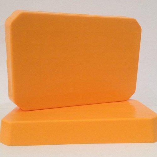 1kg bloc de savon à mouler pain de savon orange