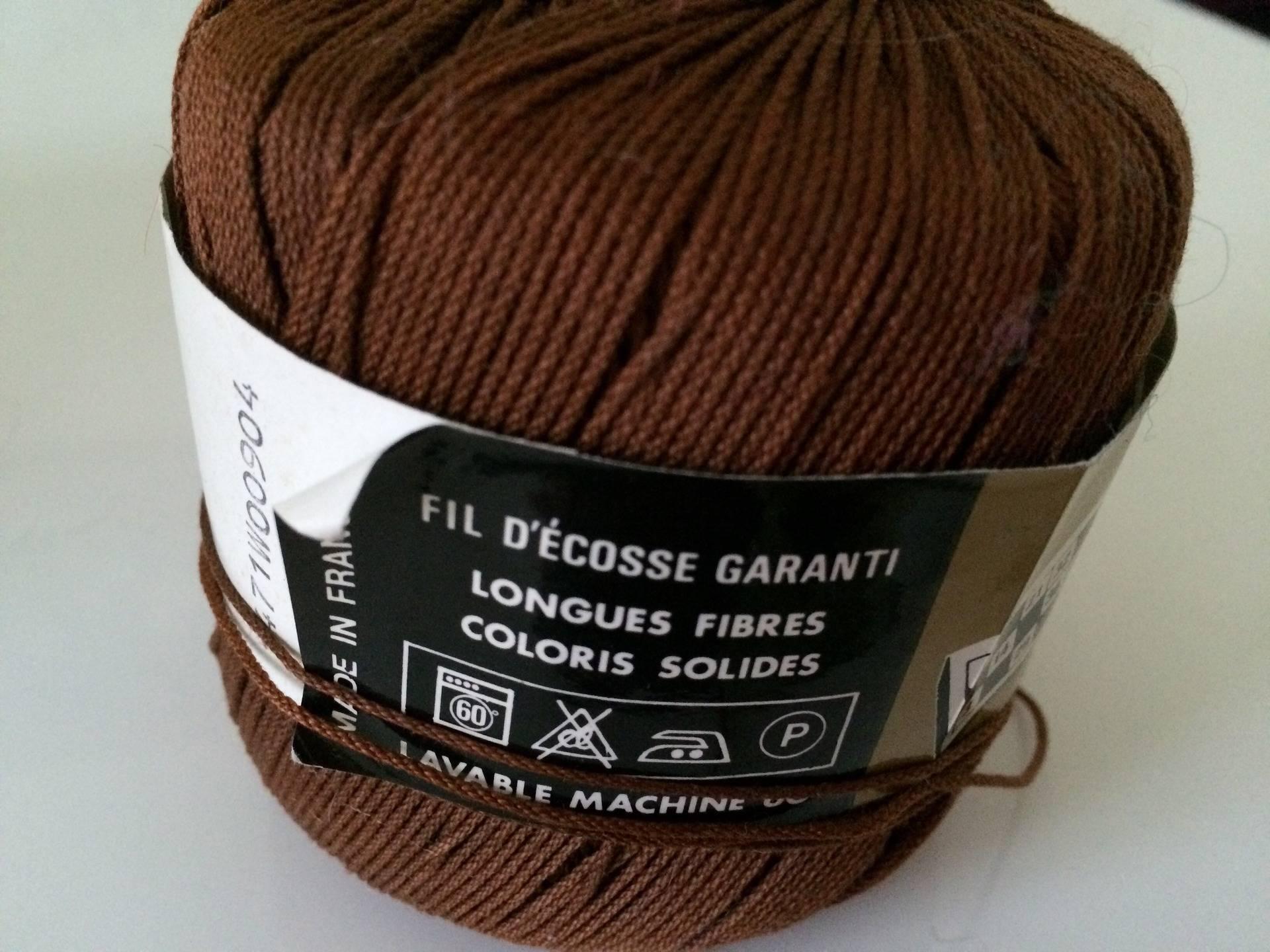 Fil d ecosse de 50 gr a crocheter ou tricoter