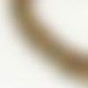 20 perle cube dore mat 4mm hematite non-magnetique, creation bijoux
