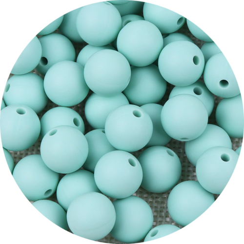 10 perle 12mm silicone couleur vert tilleul, creation bijoux, attache tetine