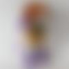 Vendue - eglantine, petite poupée au crochet