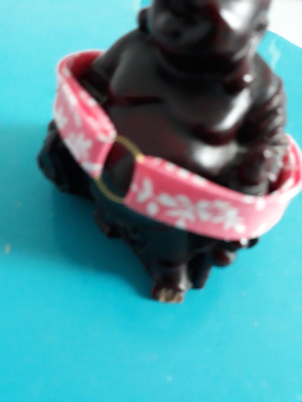 Un autre bracelet liberty dans une bande de tissu rose