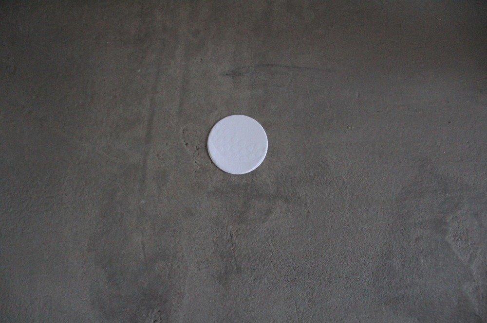 995 - Découpe papier ballon de golf coloris blanc