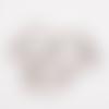 Gros mousqueton porte clef 35 mm métal