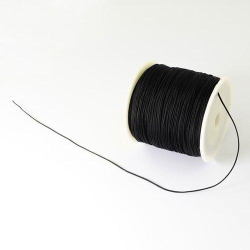 Fil nylon noir 0.5 mm ( 3 mètres )