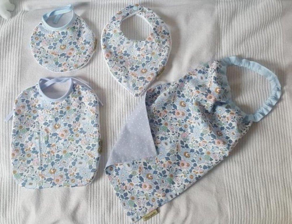 pack de bavoirs de la naissance à la maternelle