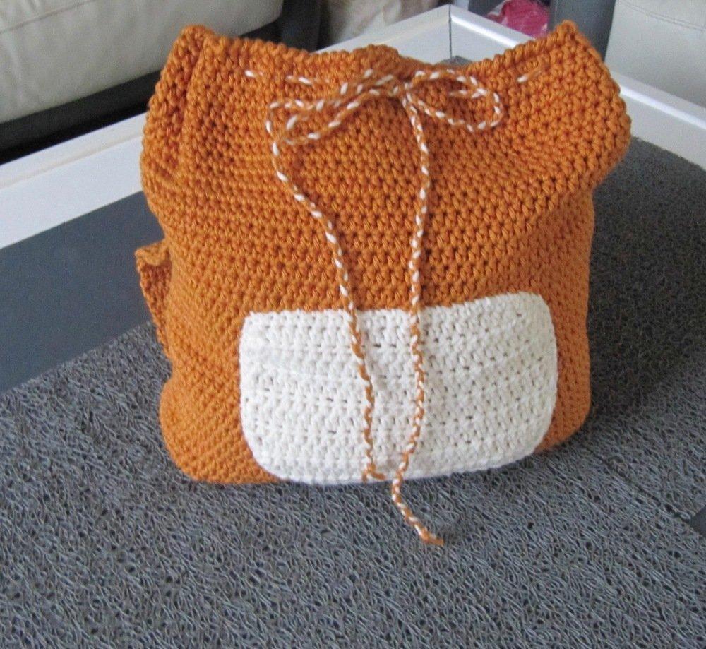 sac à dos singe pour enfant