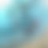 Collier-sautoir romantique, collier shabby