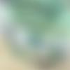 Collier turquoise avec médaillon, collier ethnique, médiéval, rustique