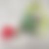 Précieux sautoir-mala boho-chic,  pendentif cloisonné