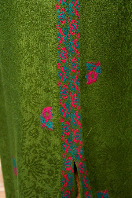 Jupe longue pure laine, fente sur un côté