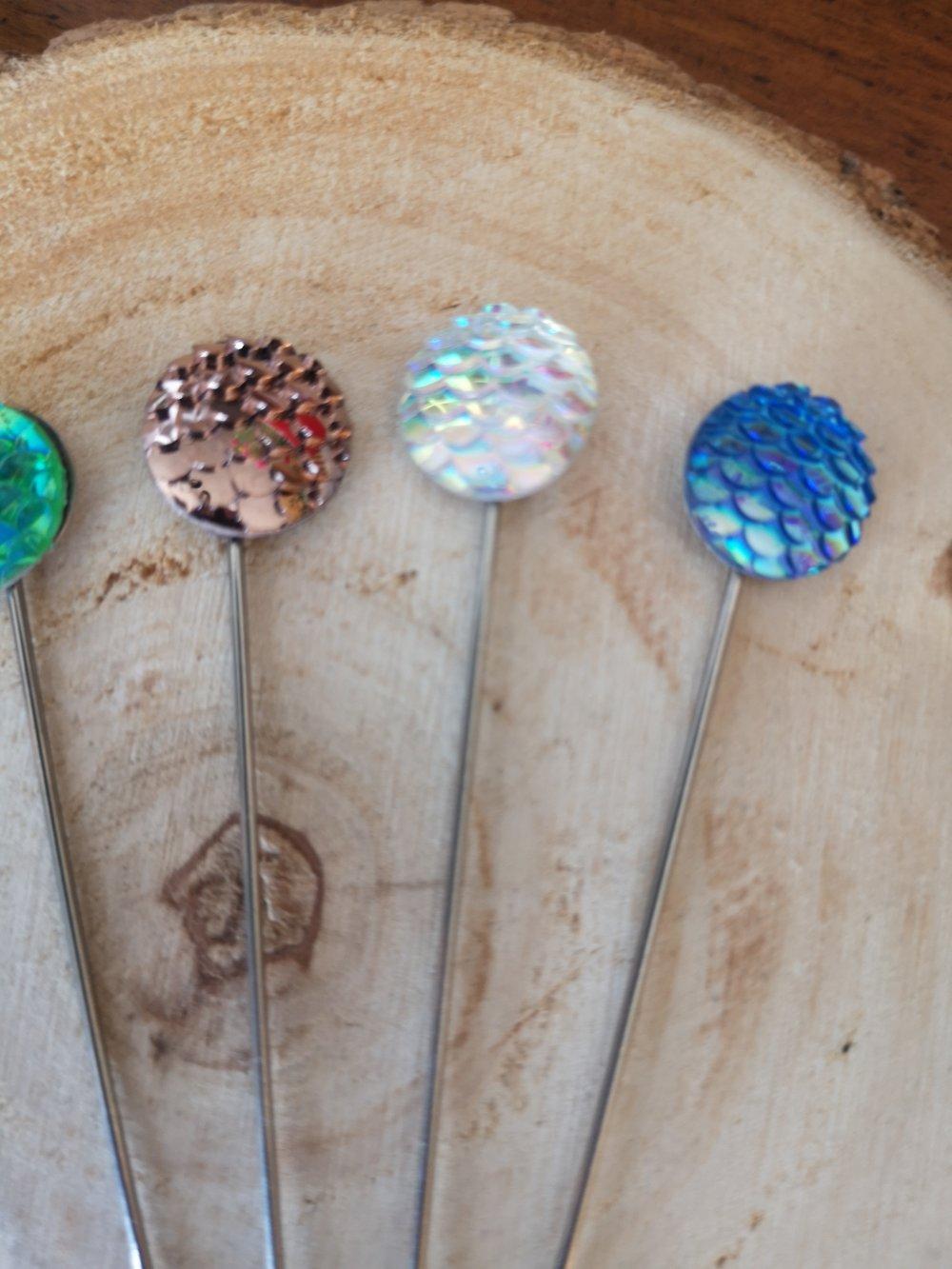 Fibules /épingles décoratives X5