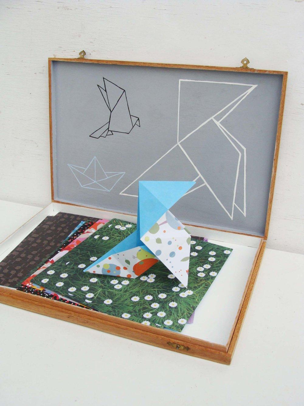 "Boîte ""Origami"""