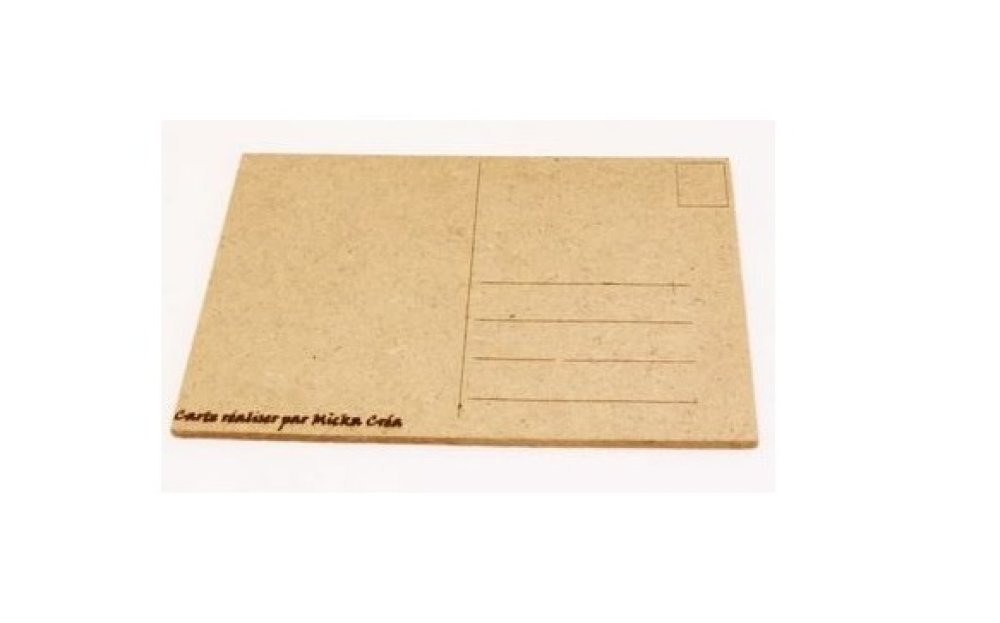 Carte postale, tête de mort, casque