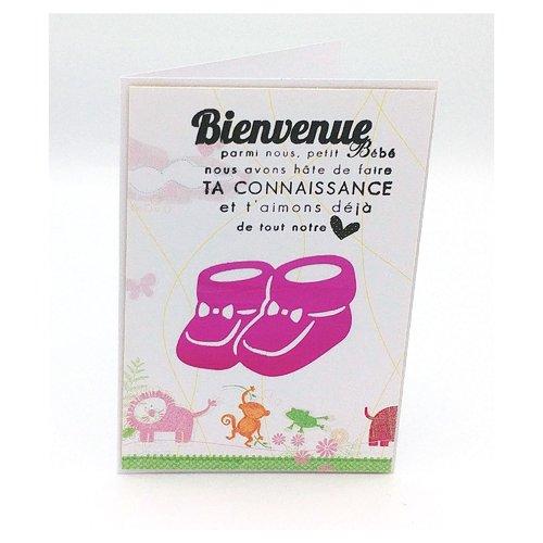 carte de voeux naissance Carte de voeux naissance, félicitations, carte naissance fille